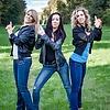 Blue jeans girls
