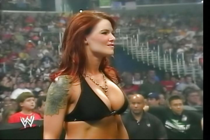Lita boob in raw — 2