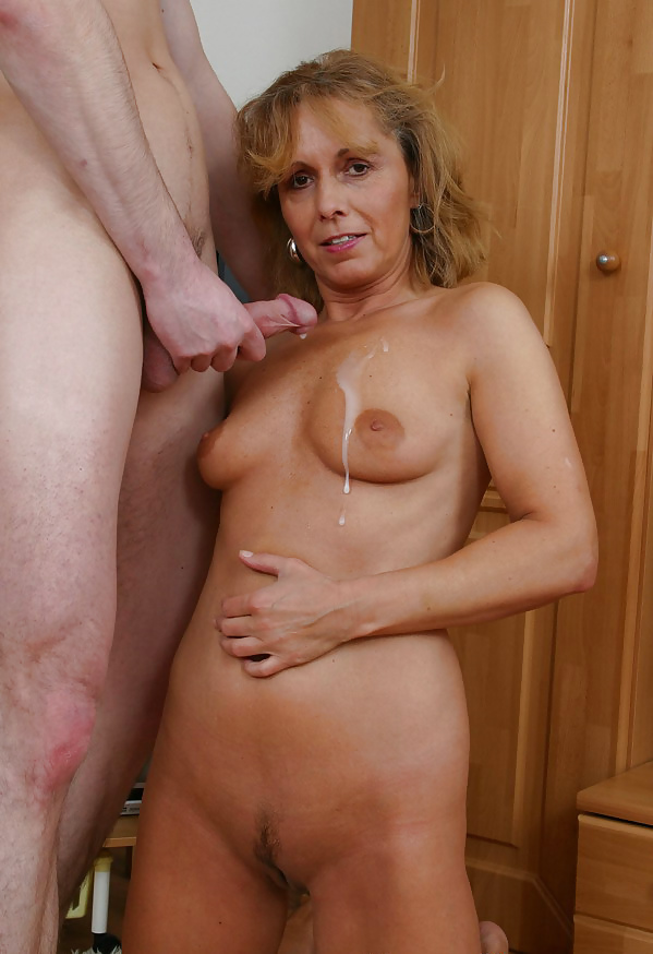Granny young guy porn