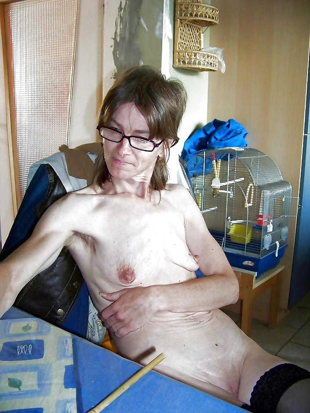 Skinny ugly sluts naked, pink shaved drill