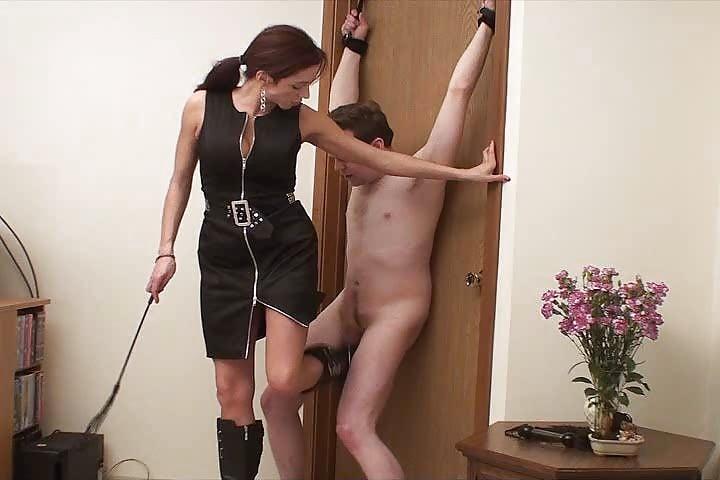 Busty mistress balls