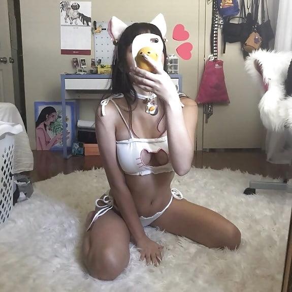 Big boobs girl in bra-6487