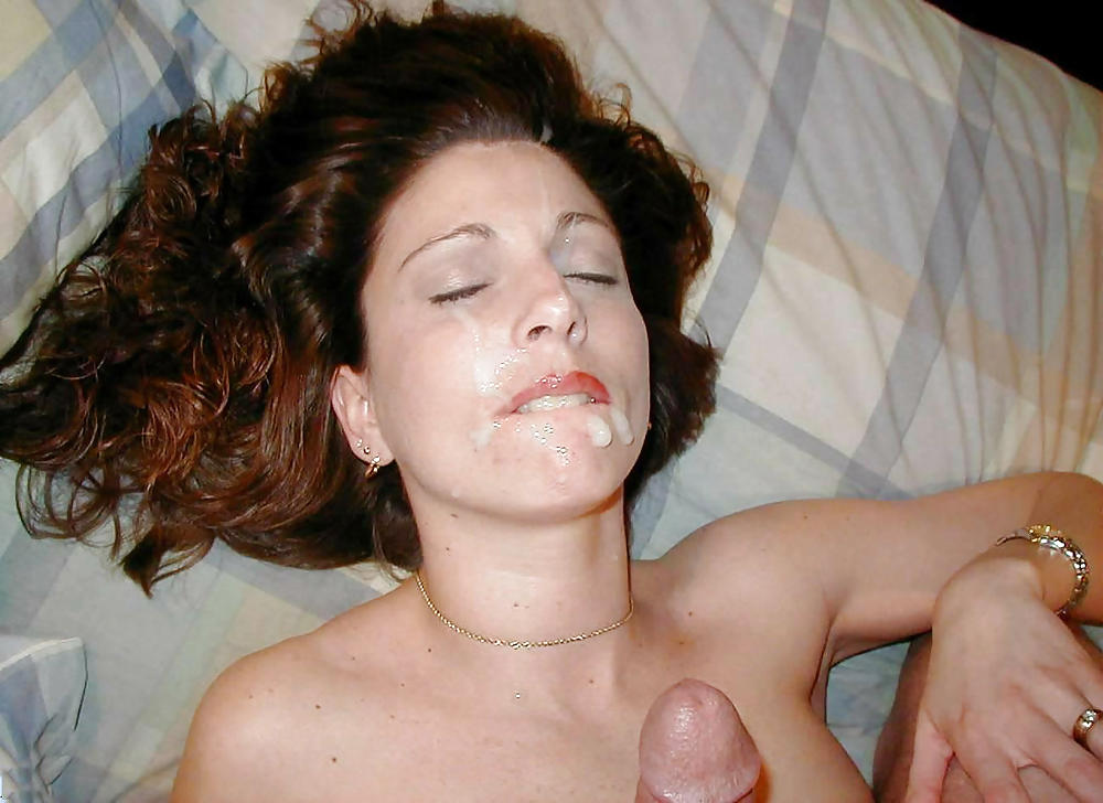She Loves Cum On Her Face And In Her Mouth
