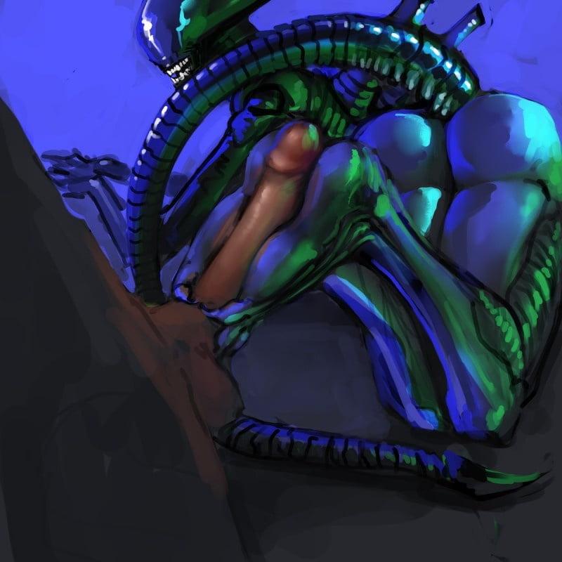Cartoon porn alien-2035