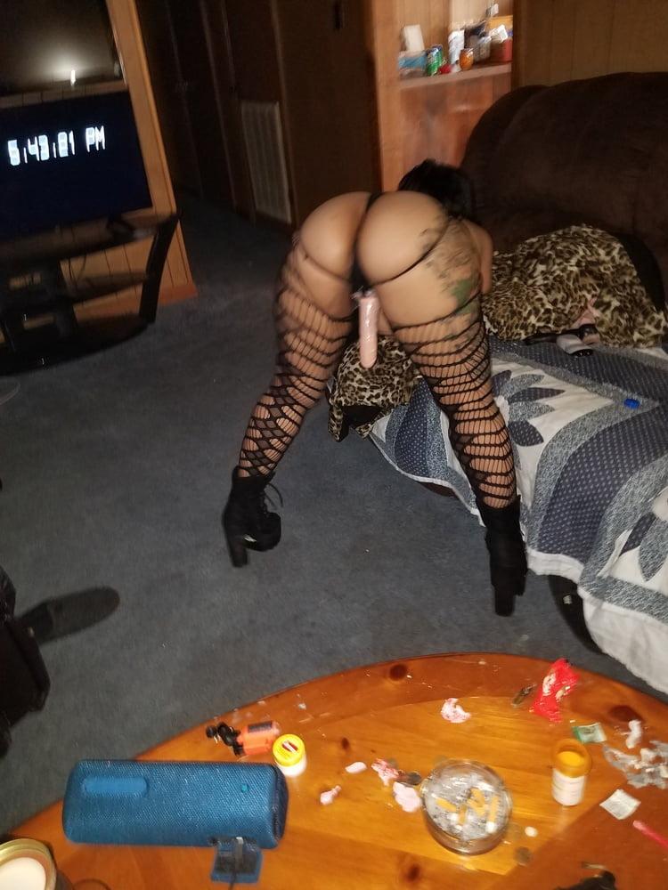 Black chick anal creampie-5104