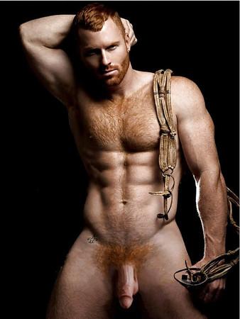 Topless Muscular Hunks Naked Gif