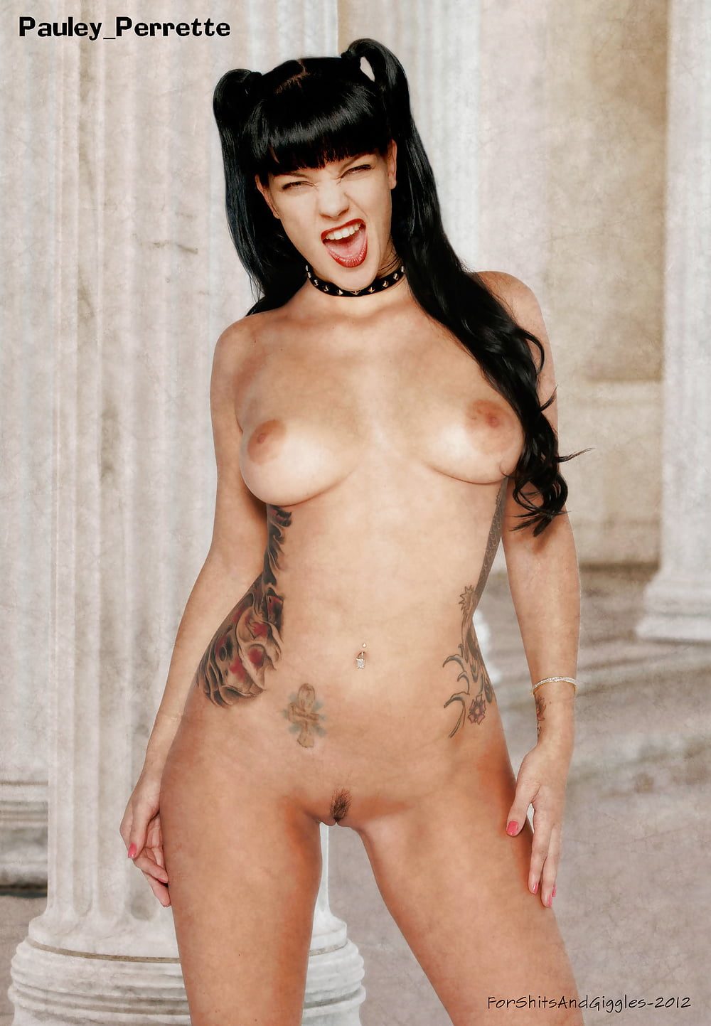 Goth girl from ncis nude — img 4