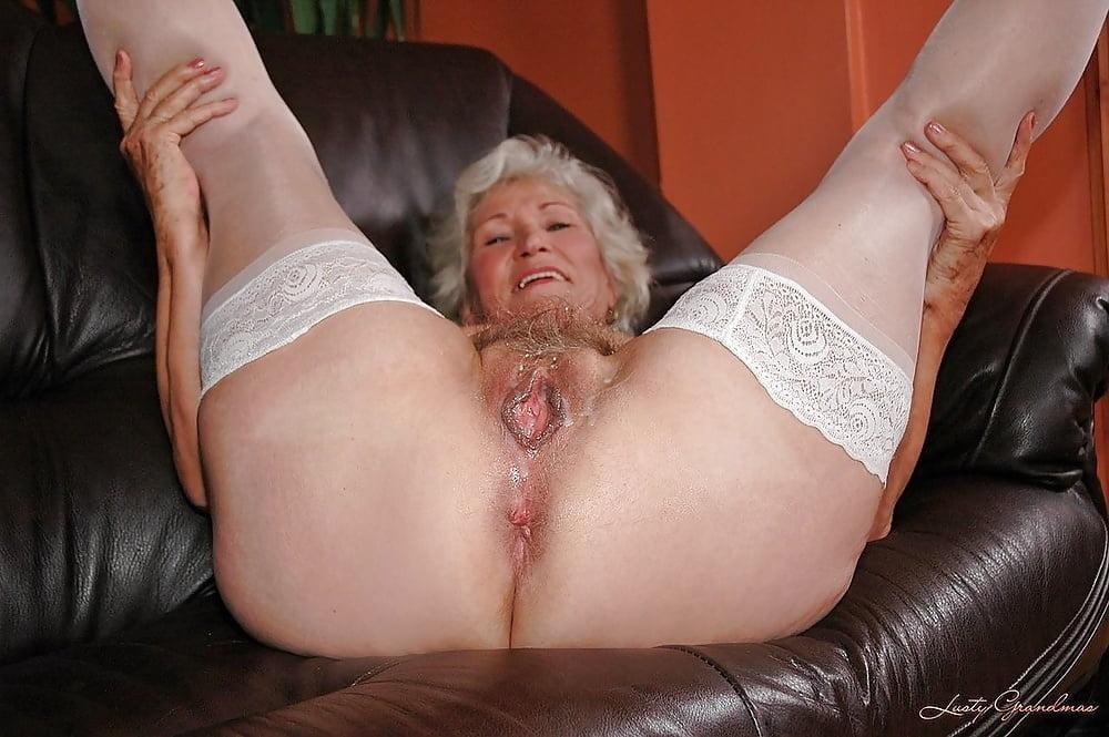 Granny Satisfies A Boy, Creampie