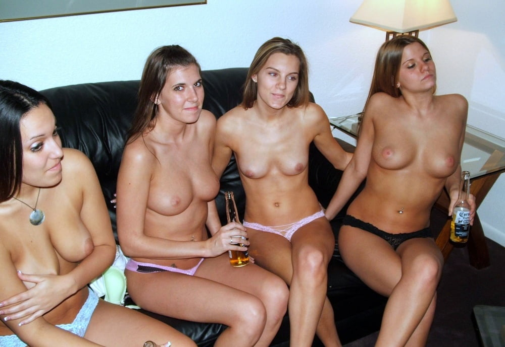 College girls naked nude or topless 6