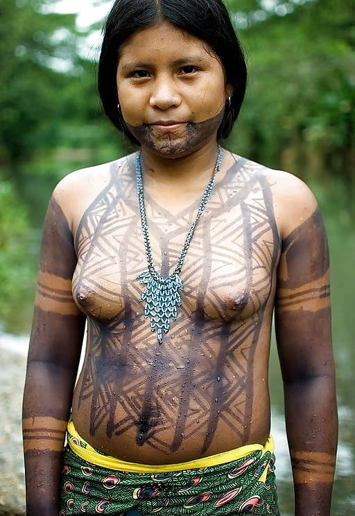 South American Tribal Indian Pussy