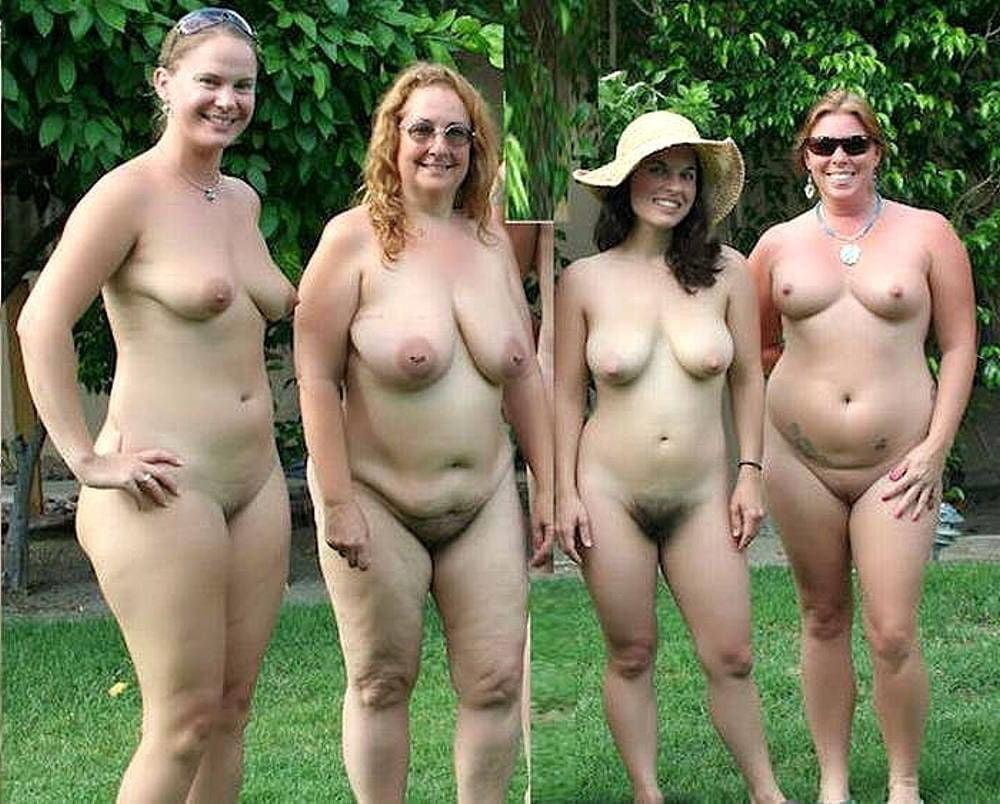 Puffy naked nipples