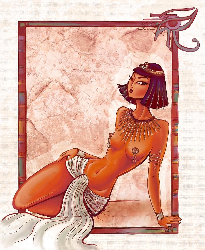 Сексуальные фантазии клеопатры — 9
