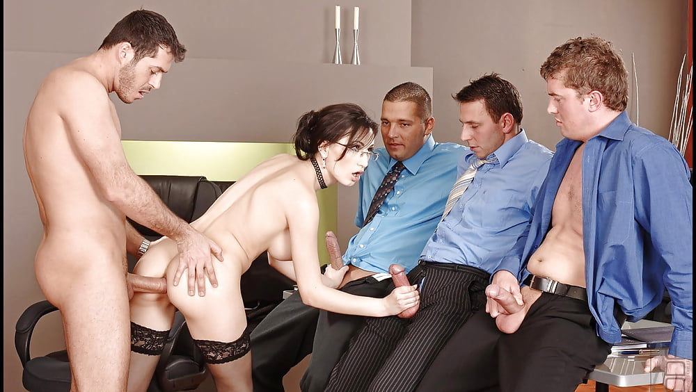 Gangbang the secretary