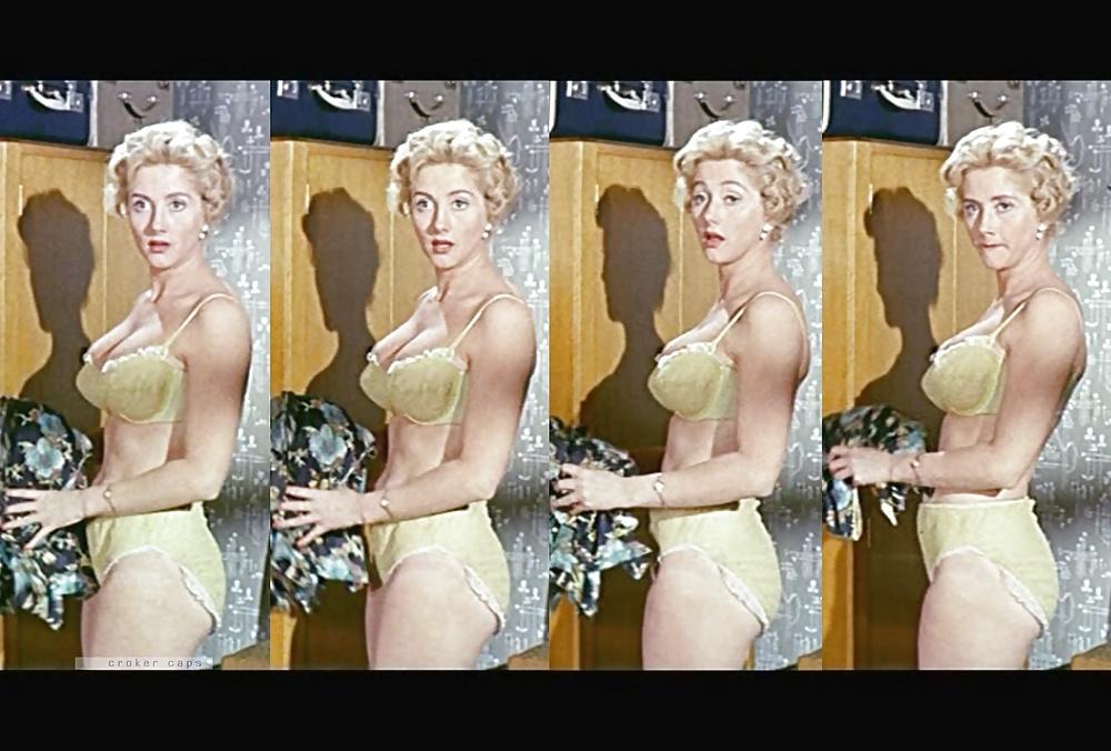 Liz fraser orig vin photo joan sims sexy lingerie leggy