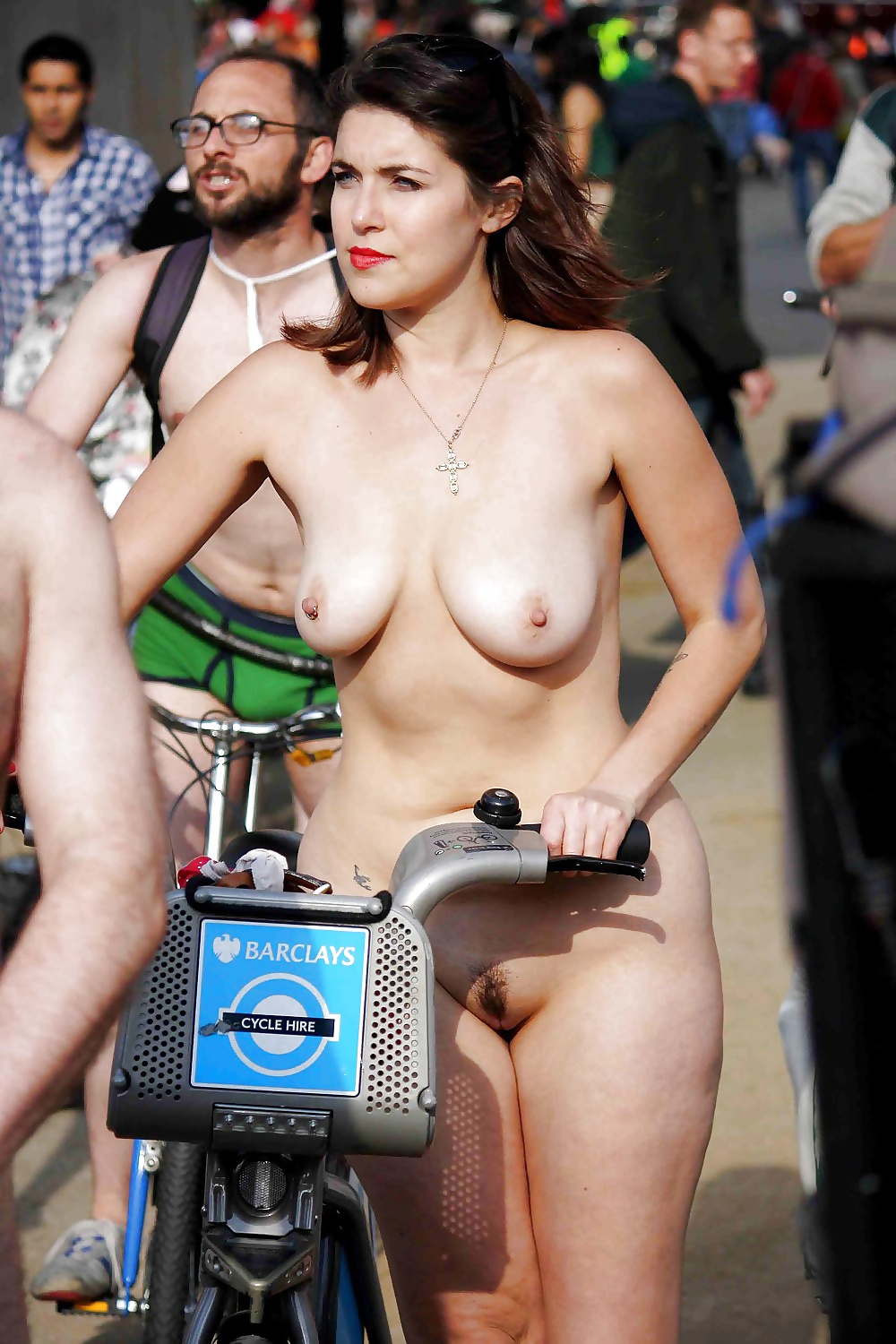 Nude women bike riders, sexy young girls nsked