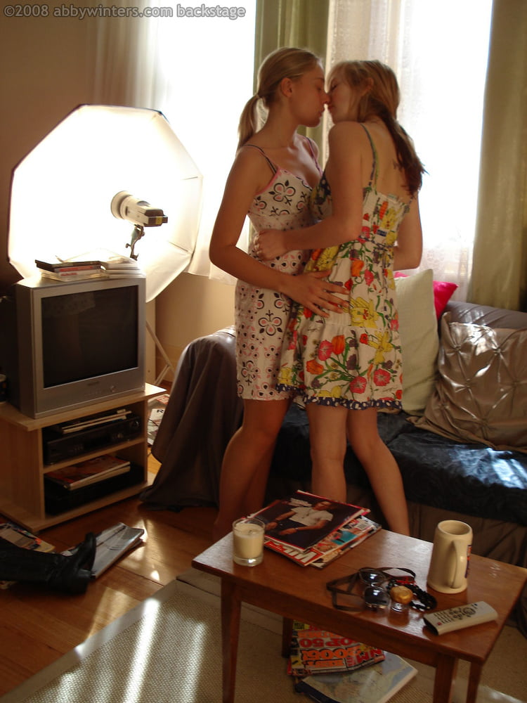 Behind the scene girls