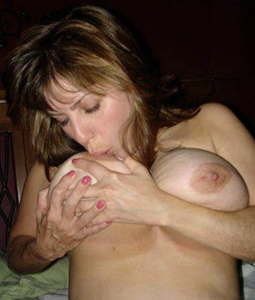 Girls licking own boobs, poland nude image