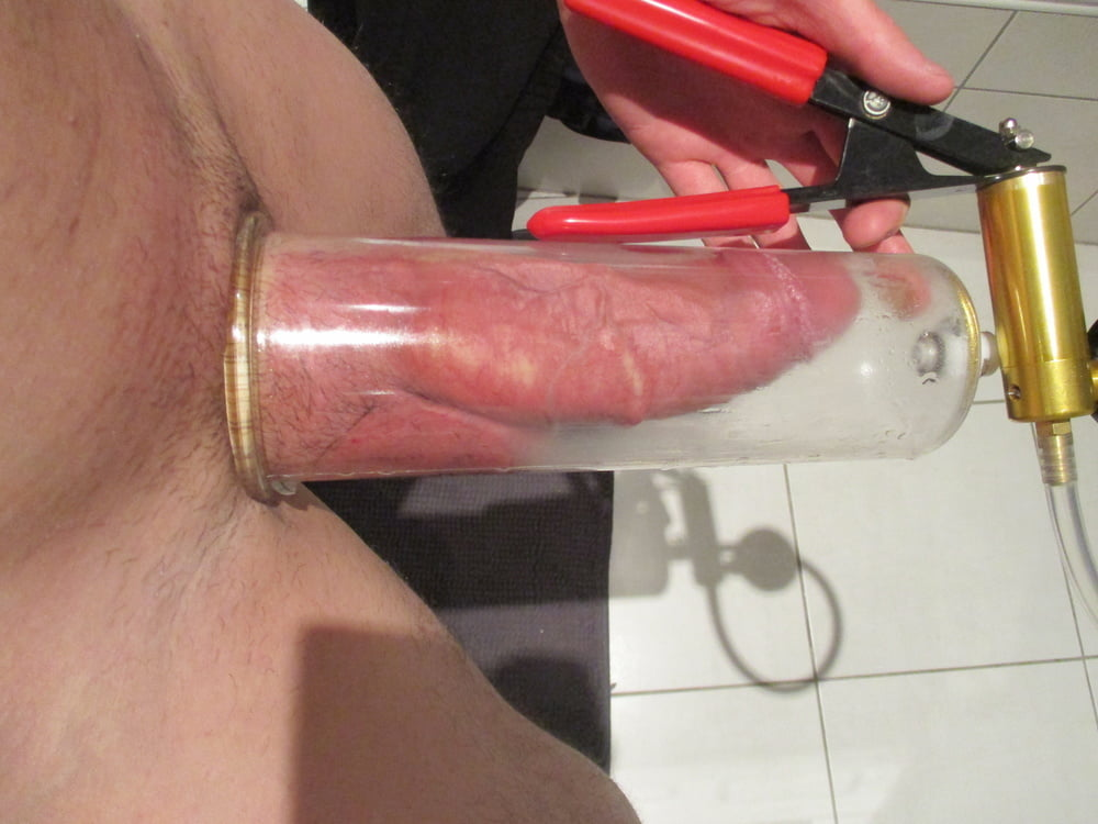 Forced cock pumping pics