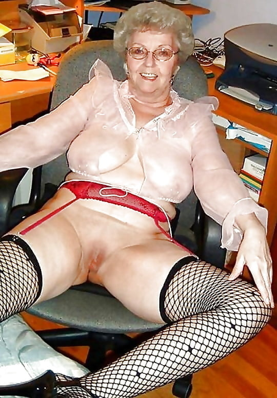 interracial amateur granny