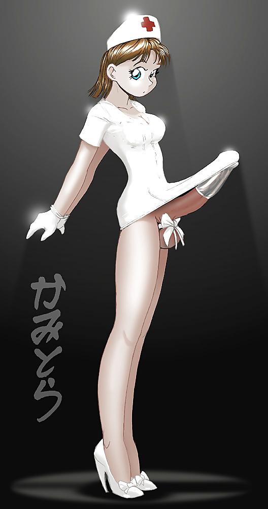 Shemale Hentai Hot Fucking Anime Nurse In The Hospital Porn Photo
