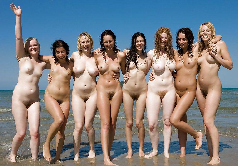 Group Of Naked Girls