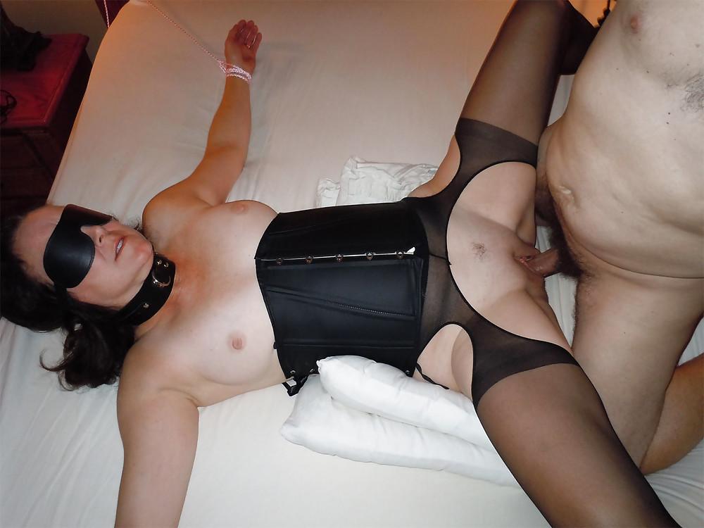 Tatoo slut wife blindfolded tied koirala xxx