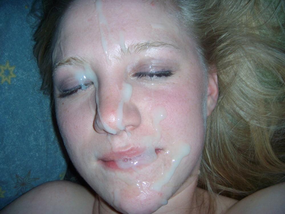 все лицо в сперме русское фото картинки