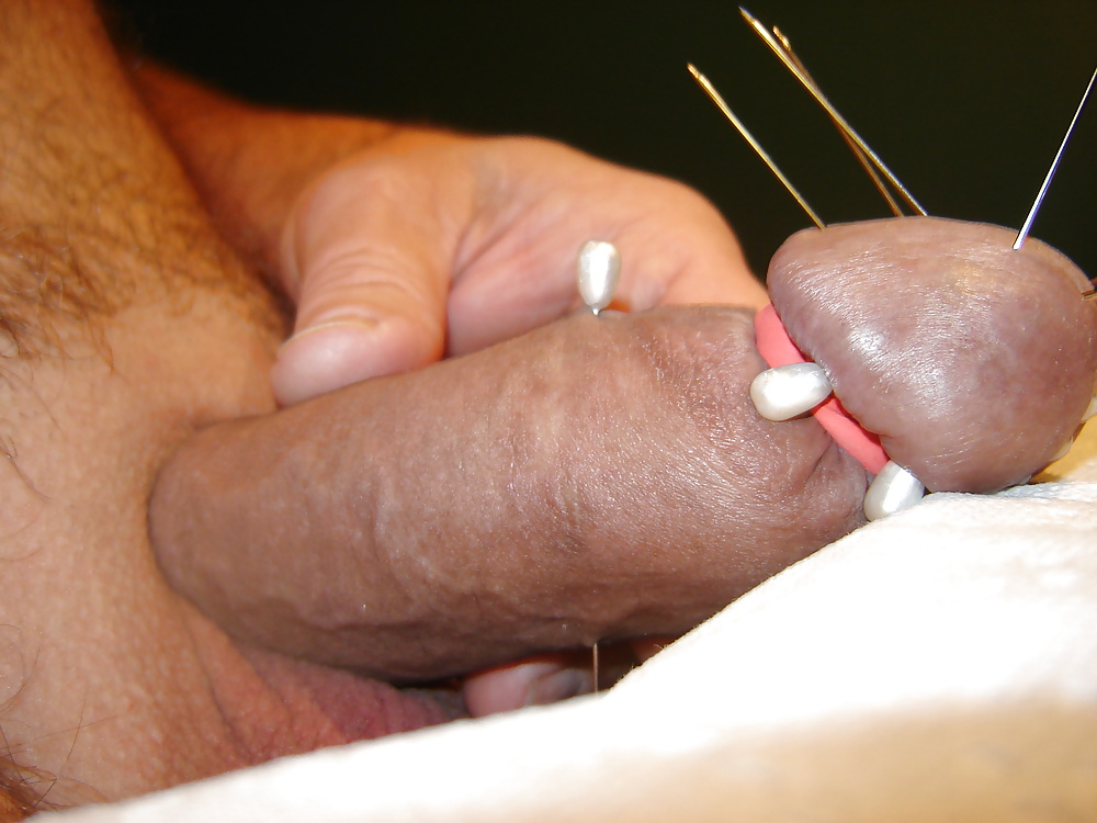 Man inserts needles in penis for satisfaction