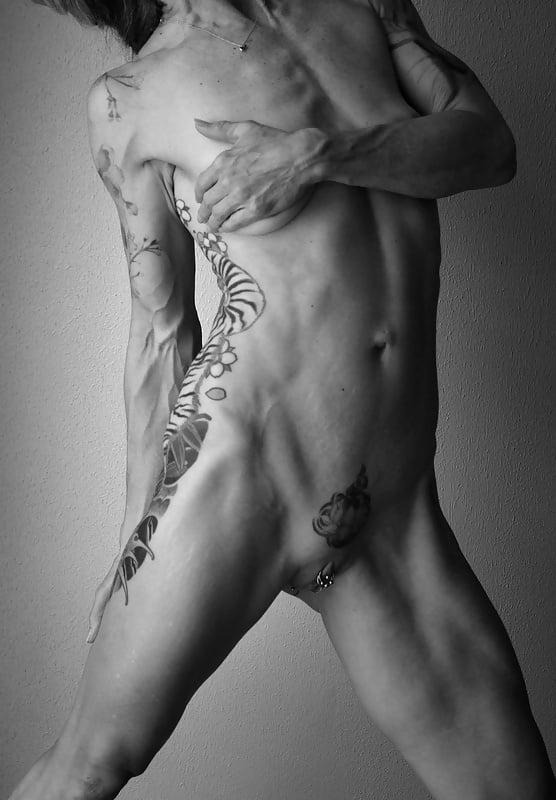 Milf with tattoo