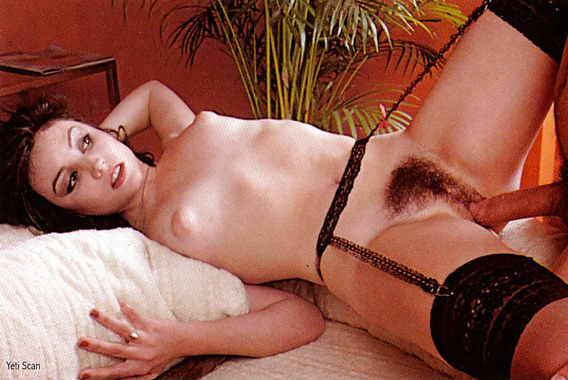 Vintage chick kandi barbour gets her hairy pussy fucked