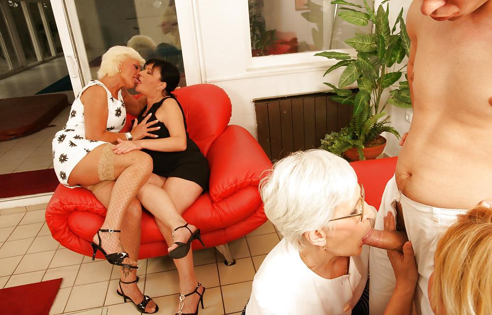 Granny orgy videos #11