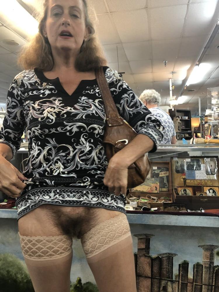 Hairy Pussy Public