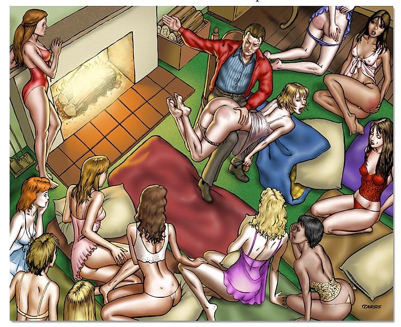 Spankingtoons porn comics sex games