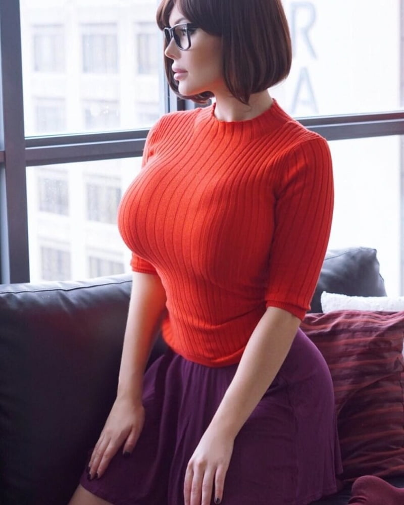 Big tits in sweaters