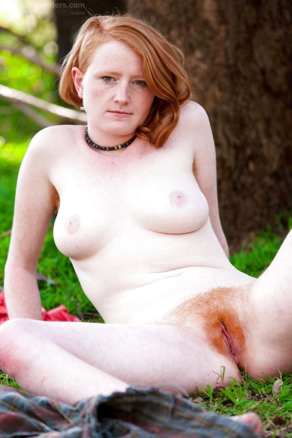 Hairy Red Hair Pussy