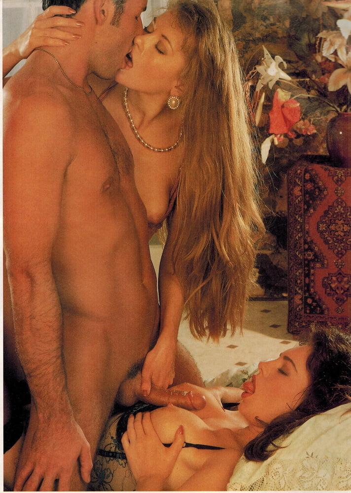 Club International Magazine - Hot Threesome in Stockings - 28 Pics