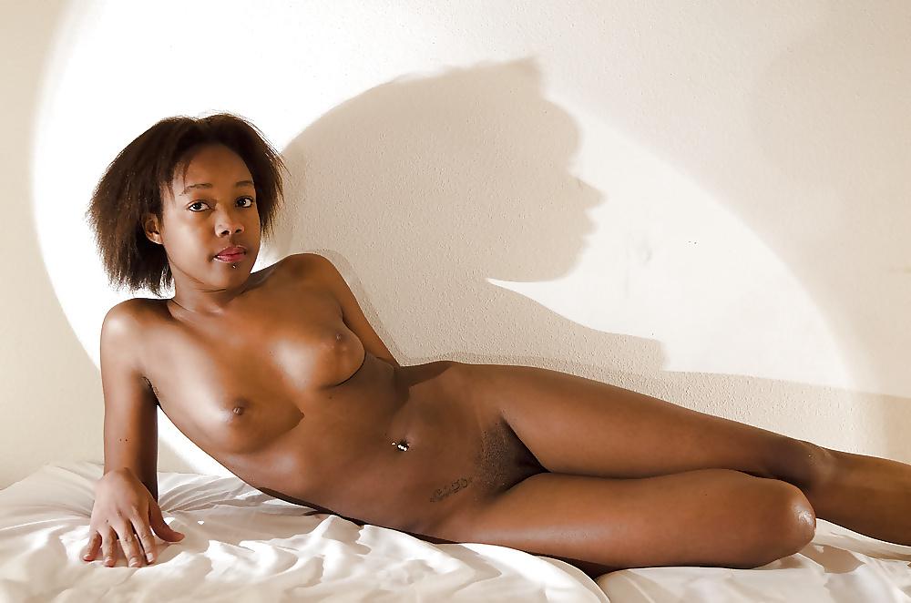 Naked Black Girls Stock Photo Footage