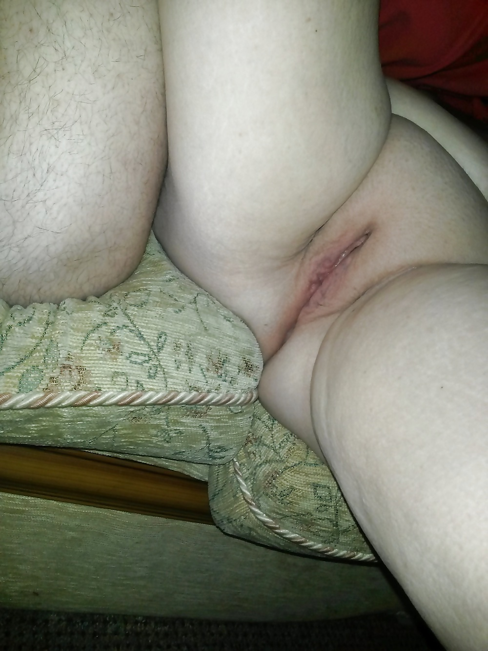 Not freshly shaved pussy