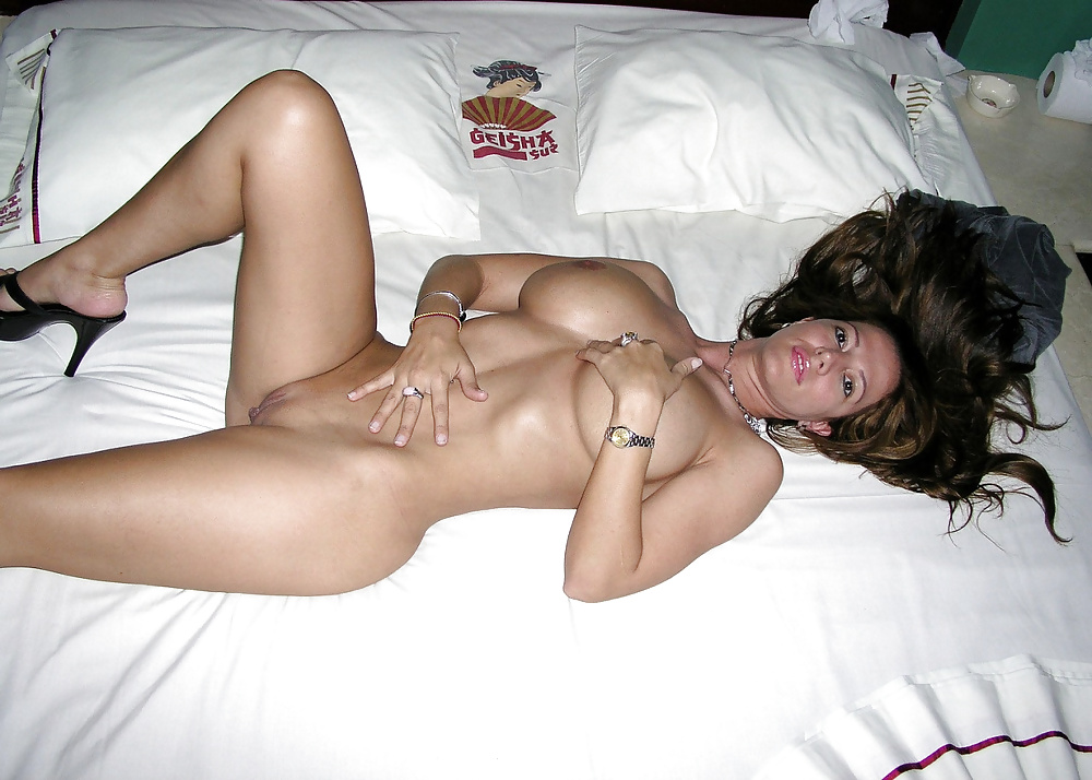 My wife gets naked