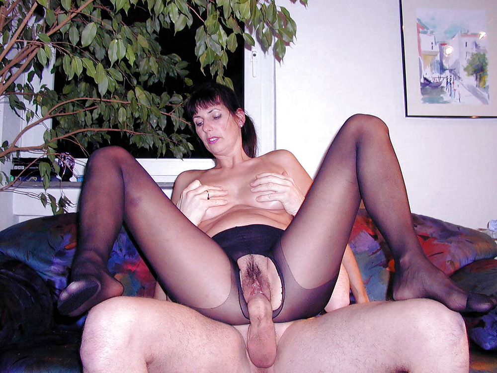 French Chubby Mature Anal