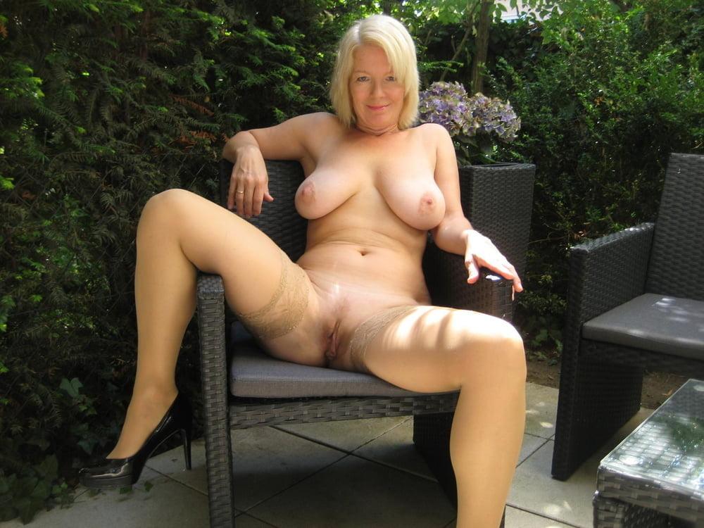 Sexy mature outdoor - 81 Pics