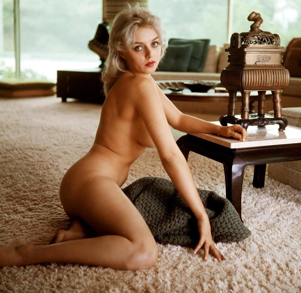 Vintage hairy blonde men nude