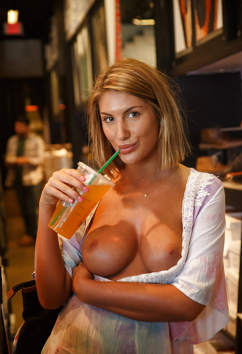 Young hooter tits naked