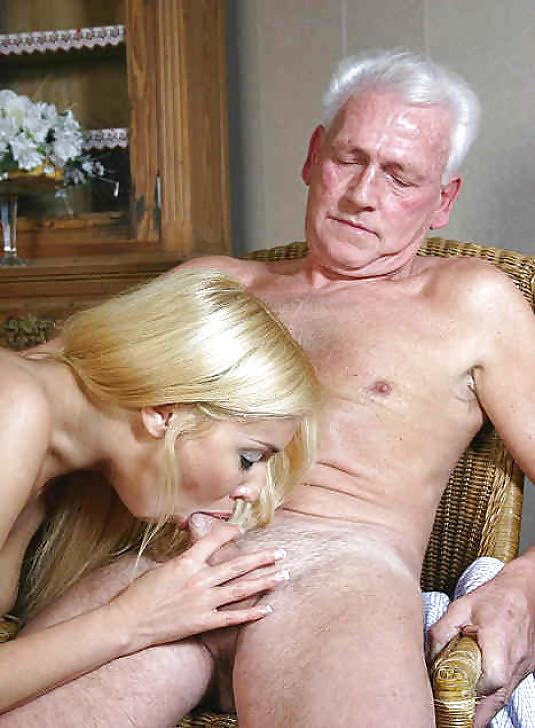 Old men young girls blowjob 3