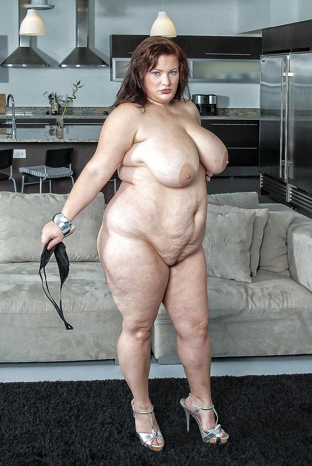 Mega fat women in full naked