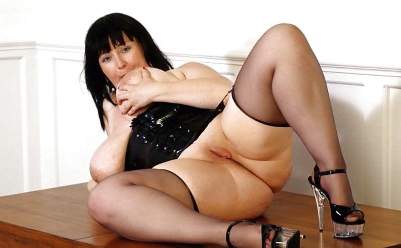Chubby high heels nude young girl