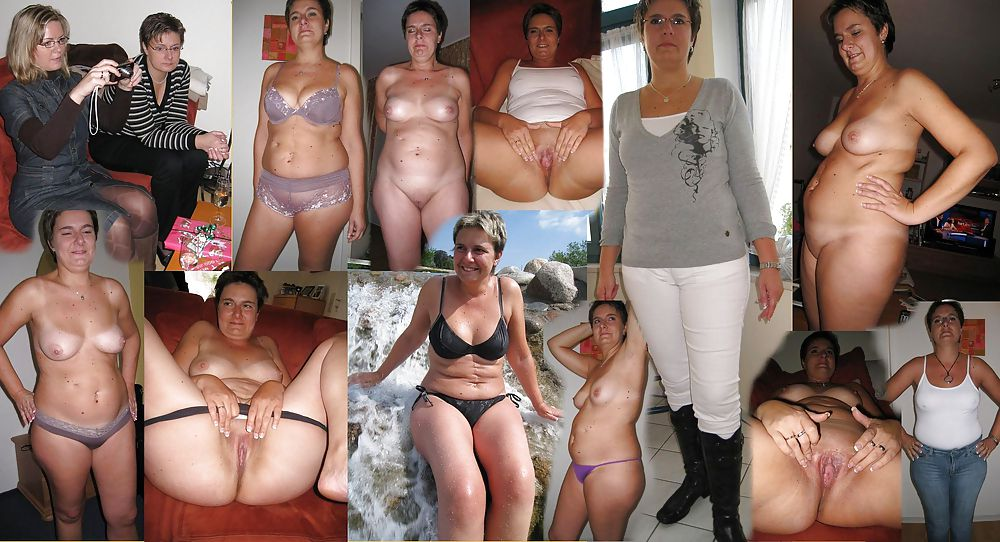 Share your amateur milf dressed and undressed think, what